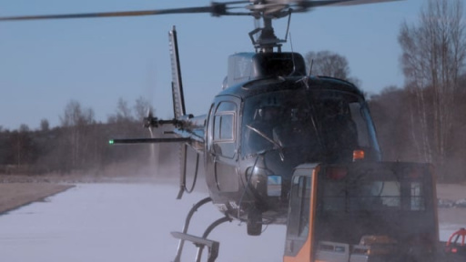 AS350 Helicopter with Cineflex V14